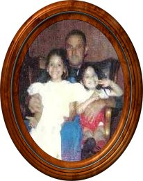 Elizabeth and Emily Garcia with Grandpa Ralph Smith Sr.